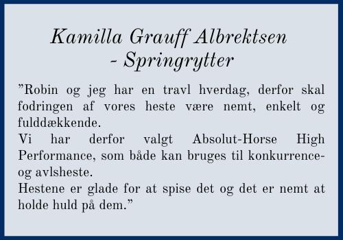 Kamilla Grauff Albrektsen - Springrytter (1)